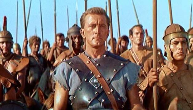 Kirk Douglas en Espartaco