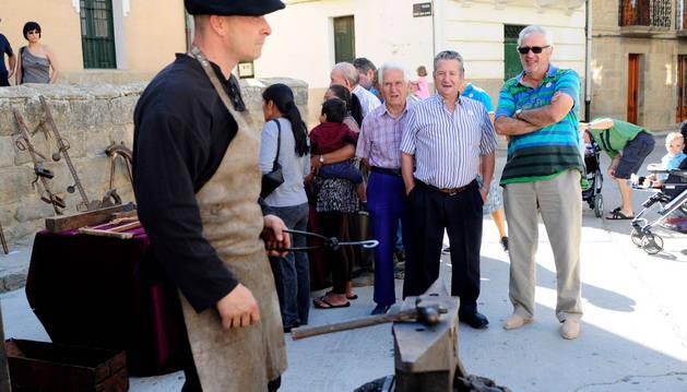 La II Fiesta de los usos tradicionales de Bardenas se celebró este sábado.