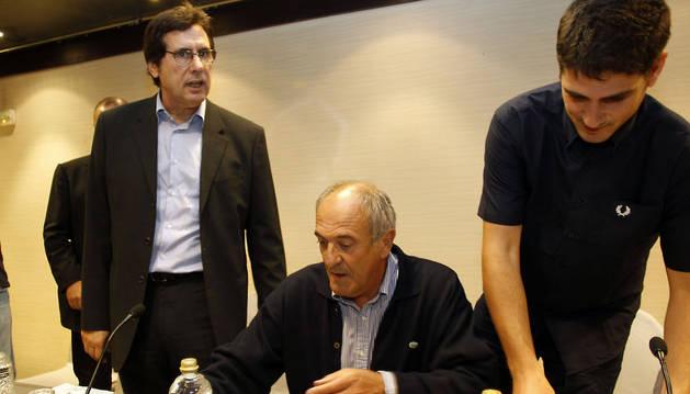 Zabaleta, Ibero y Zulet, en la asamblea ordinaria