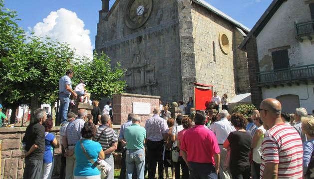 Y las aguas llegaron a Burguete en el tercer domingo de septiembre