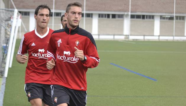 Roberto Torres, durante las pruebas físicas
