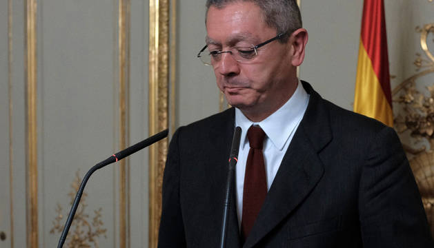Gallardón presenta su dimisión ante los medios