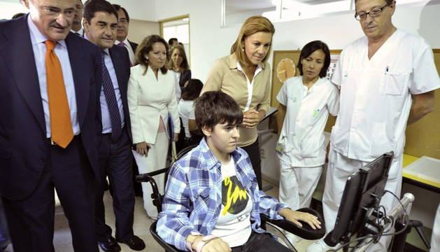 Para parapléjicos, tabletas que se mueven con los ojos