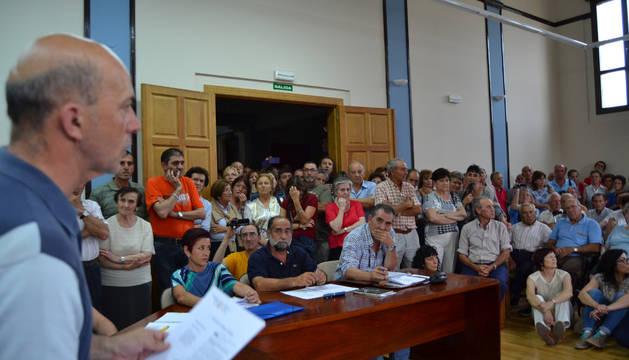 Pleno celebrado en junio con el Canal como tema candente.