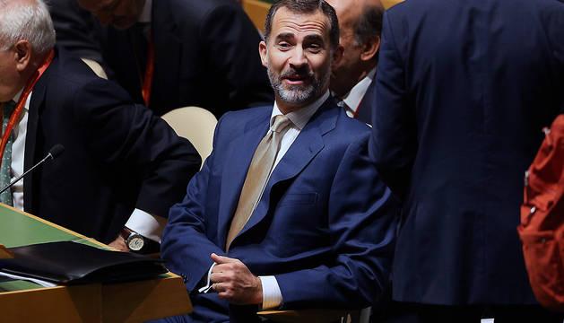 El Rey, este miércoles en la Asamblea de la ONU