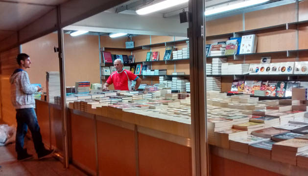 La Feria del Libro Antiguo y de Ocasión vuelve este sábado a Pamplona