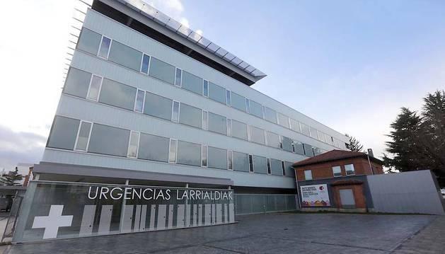 Nuevo edificio de Urgencias, que abrirá el 8 de octubre.