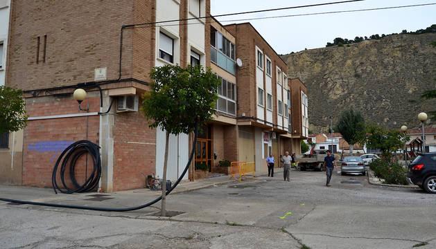 Los trabajos ya se han iniciado en la calle La Badina