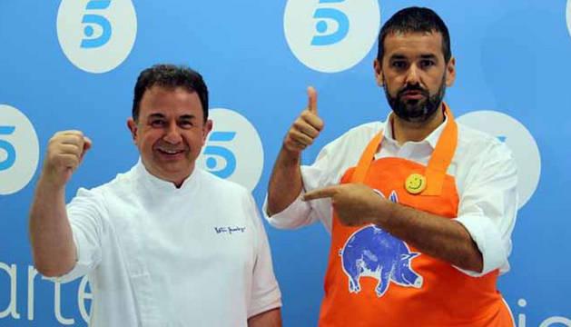 Robin Food y Martín Berasategui