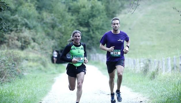 Imágenes de la carrera celebrada entre Leitza y Lekunberri.
