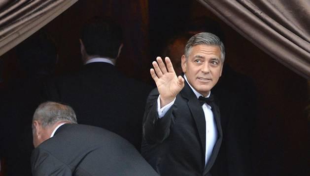 Boda soprresa de George Clooney en Venecia