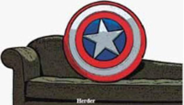 Portada del libro 'También los superhéroes van a terapia'.