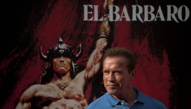 Schwarzenegger defiende el rodaje de Conan en España