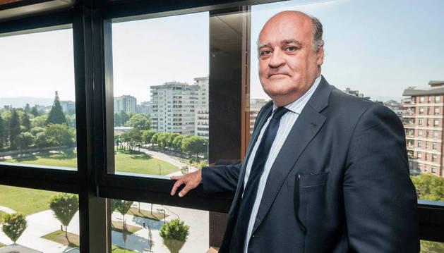Joaquín Galve, nuevo presidente del Tribunal Superior de Justicia de Navarra.