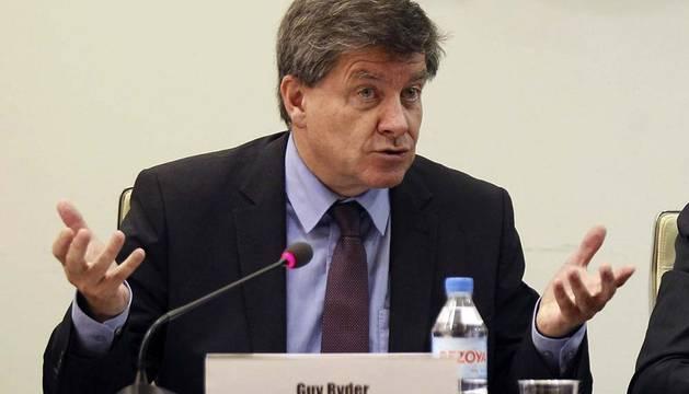 Guy Ryder, Director General de la OIT.