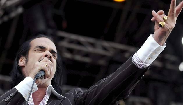 Nick Cave, en 2008.