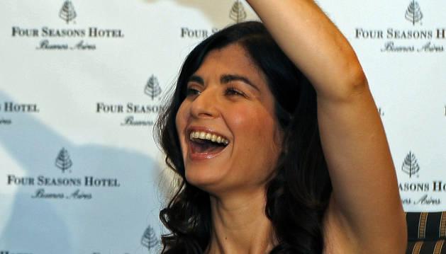 La actriz Soledad Villamil, premio del Festival Iberoamericano de Huelva