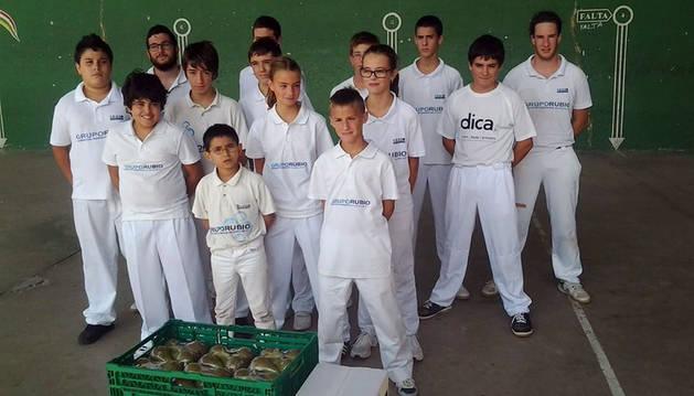 El Club Eraso de Tudela organiza cinco partidos en Rincón de Soto