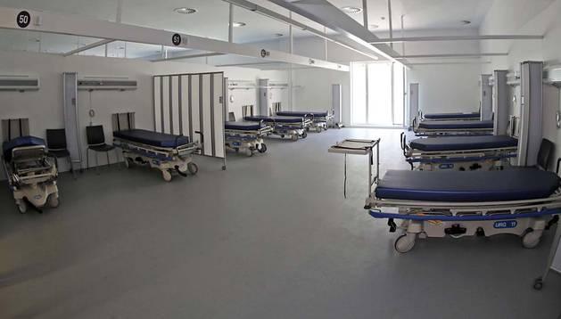 Más de 300 pacientes pasarán cada día por las nuevas urgencias del Complejo Hospitalario