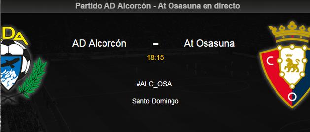 Alcorcón-Osasuna