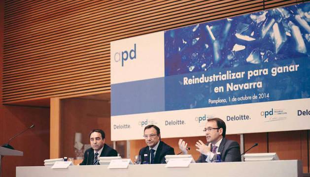 Iñaki Morcillo, Juan Carlos Franquet e Ignacio Lezaun