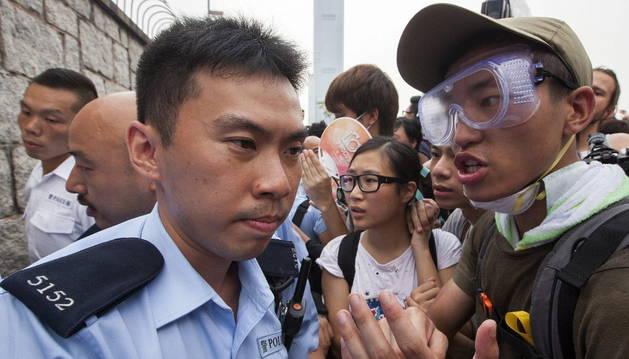 Se tensa el pulso entre el Gobierno y los manifestantes en Hong Kong