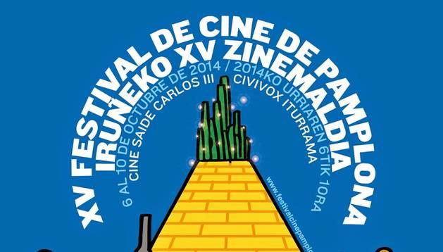 El cartel del Festival de Cine de Pamplona de este 2014