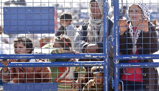 refugiados sirios, estado islámico, irak