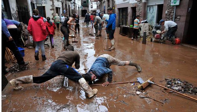 Los daños en Baztan de las inundaciones de julio se elevan a 7,6 millones