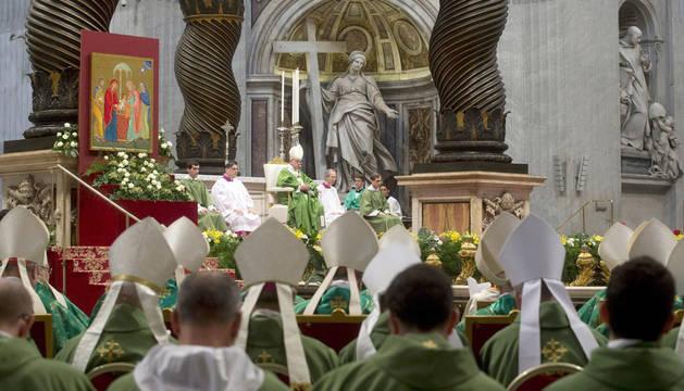 El Papa abre oficialmente el Sínodo extraordinario sobre la familia