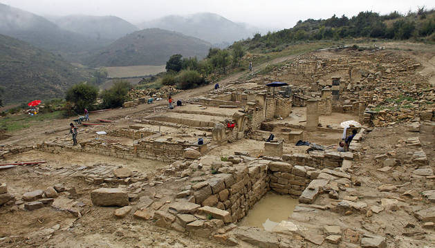 Las cinco incógnitas de la ciudad romana de Santa Criz