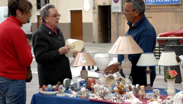 Feria de artesanía y productos ecológicos en Peralta