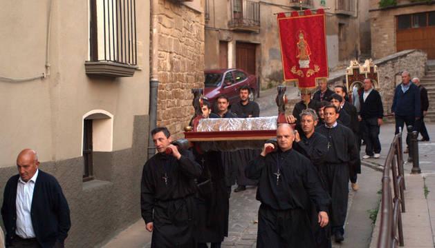 Tafalla celebra la Procesión de los Muros