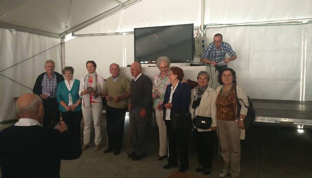 Pérez Cueva, alcalde del valle Ollo, presidió el día de la localidad