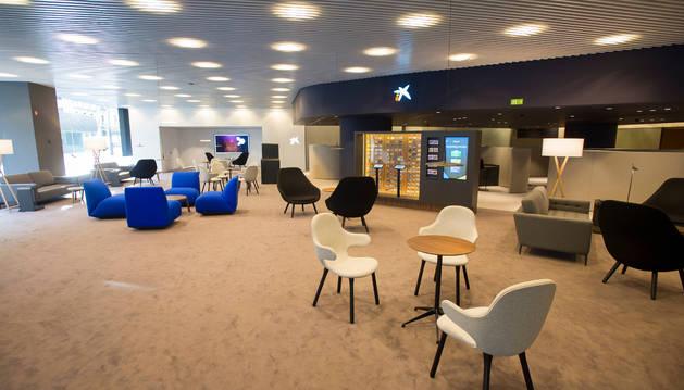 CaixaBank estrenó el pasado martes un nuevo tipo de oficina