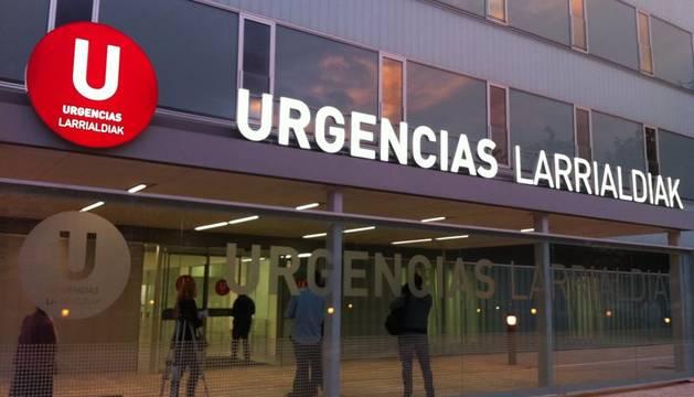 Este miércoles ha entrado en funcionamiento el nuevo edificio de urgencias para adultos del Complejo Hospitalario de Navarra.