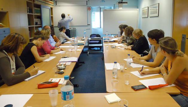 Participantes en un momento del curso
