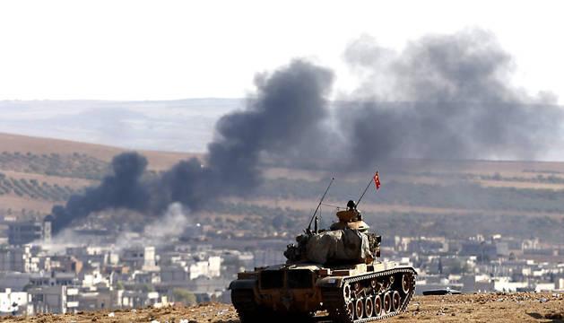 turquía, estado islámico, ofensiva terrestre