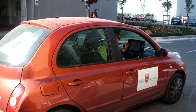 Más de 500 multas por los 'visual car' hasta septiembre en Pamplona