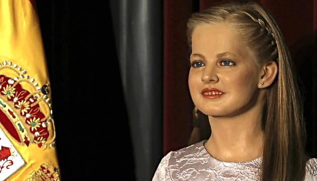 La princesa de Viana ya tiene figura de cera