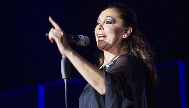 Isabel Pantoja, en Zaragoza: