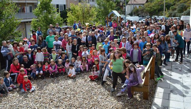 Los padres y las madres de los alumnos participaron con sus hijos en las actividades programadas.