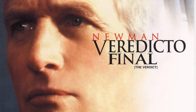 Cartel de 'Veredicto final', una de las películas que se proyectará en el seminario.