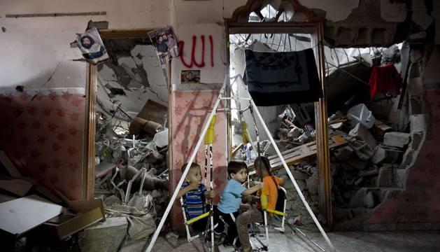 La reconstrucción de Gaza abarca viviendas, empleo...