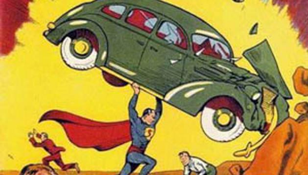 El primer número de Action Comics, el cómic más caro.