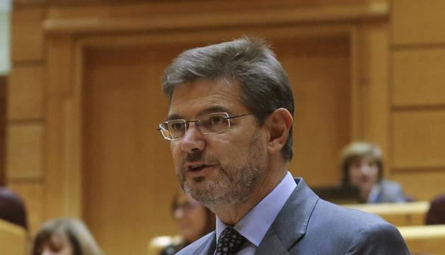Catalá presentará próximamente la reforma del Poder Judicial