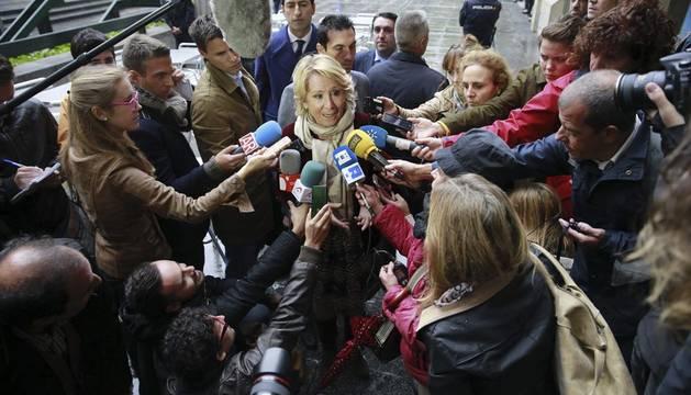 Aguirre dice que no pagará a Pablo Iglesias los 100.000 € que le reclama