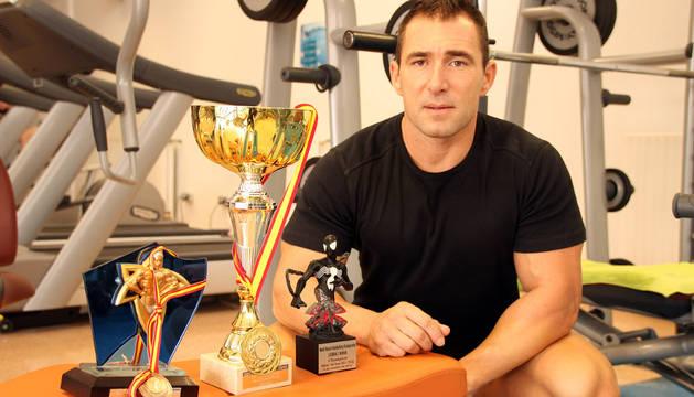 El milagrés, con los trofeos conseguidos este año.