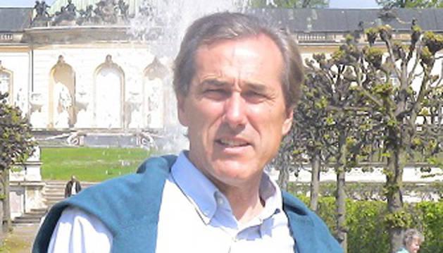Luis Aoiz, presidente de Navarra Coaching