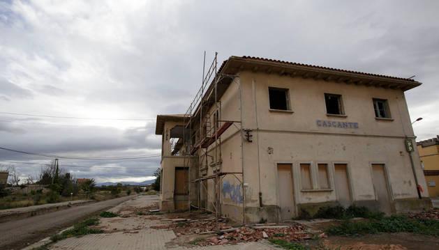 Adif vende la antigua estación de tren de Cascante por 65.150 €